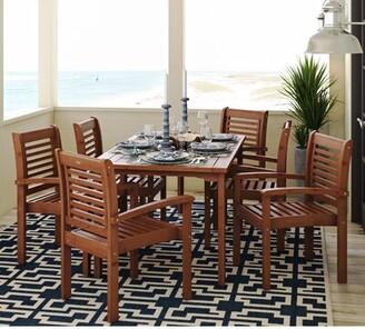 Beachcrest Home Flinn 7 Piece Dining Set