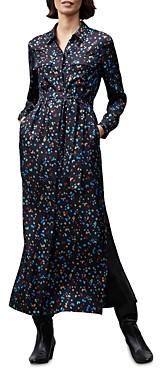 Lafayette 148 New York Doha Silk Shirt Dress