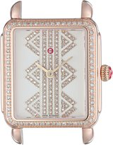 Michele Women's 'Deco II' Swiss Quartz Stainless Steel Casual Watch, Color:Rose Gold-Toned (Model: MW06I01B4980)