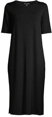 Eileen Fisher Shift Midi Dress