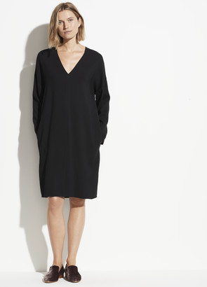Vince V-Neck Popover Dress