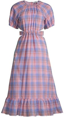 LIKELY Payson Plaid A-Line Dress