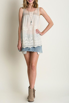 Umgee USA Sheer Sleeveless Top