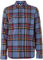 Topman Multicoloured Check Overshirt