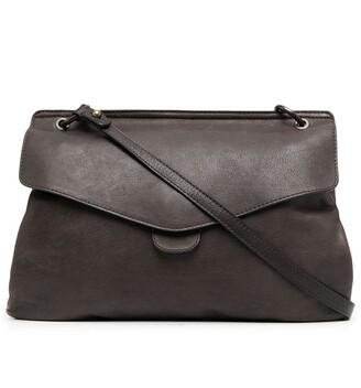 Officine Creative Woven-Handle Tote Bag