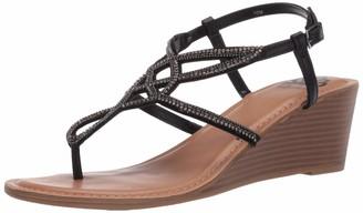 Fergie Womens Charisma Black City Sandals 11 M