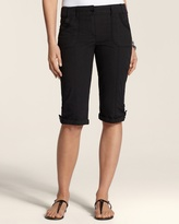 Chico's Ripstop Utility 15.5'' Shorts