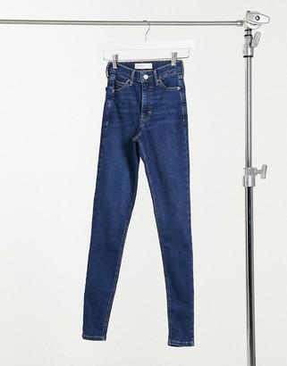 Topshop Jamie skinny jean in rich blue