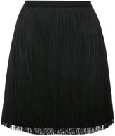 Saint Laurent tassel mini skirt