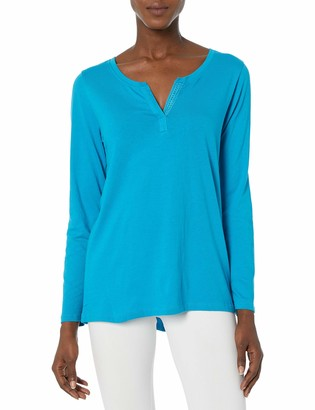 Hanes Women's Lightweight Split Neck Tunic