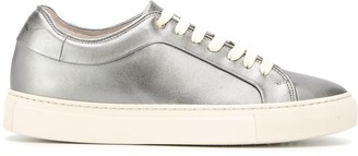 Paul Smith metallic lace-up sneakers