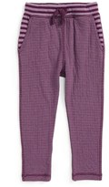 Tea Collection Stripe Jogger Pants (Baby Girls)