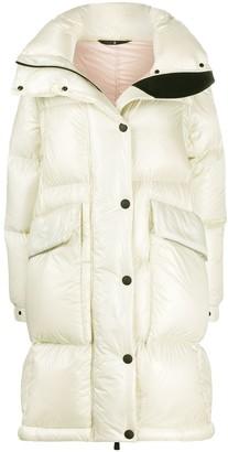 MONCLER GRENOBLE Detachable-Sleeve Down Coat