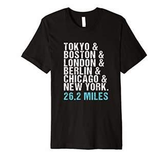 Marathon Majors Runner Finisher 26 Miles T-Shirt