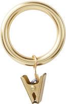 """Rejuvenation Clip Drapery Rings for 1-3/8"""" Rods"""