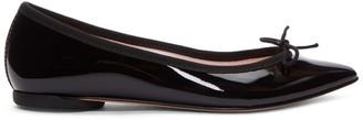Repetto Black Patent Brigitte Ballerina Flats