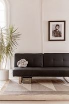 Urban Outfitters Lucia Vegan Leather Sleeper Sofa
