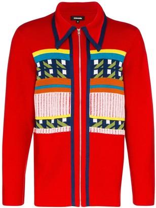 Ahluwalia Gabbo zip-up cardigan