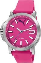 Puma Ultrasize 45 Women's Quartz Watch with Purple Dial Analogue Display and Purple Polyurethane Strap PU103462011