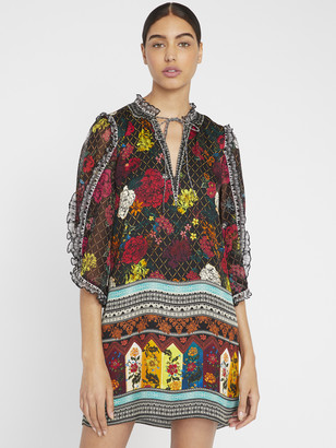 Alice + Olivia Julius Floral Mini Dress