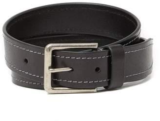 Boconi Heavy Stitch Leather Belt
