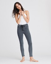 Rag & Bone Nina high-rise ankle skinny with lace up