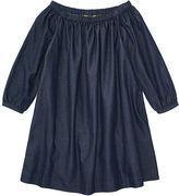 Ralph Lauren 7-16 Cotton Off-The-Shoulder Dress