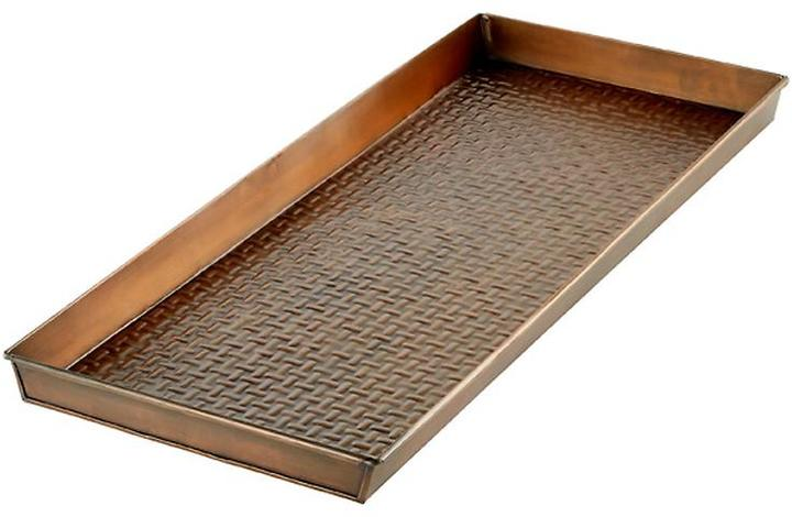 Container Store Long Boot Tray Copper