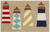 Liora Manné Trans Ocean Imports Frontporch Lighthouses Indoor Outdoor Rug