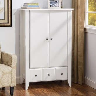 Three Posts Baby & Kids Olney Armoire Color: Soft White