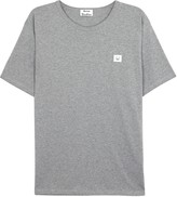 Acne Studios Niagra Grey Mélange Cotton T-shirt