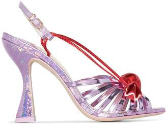 Sophia Webster metallic Bon Bon sandals