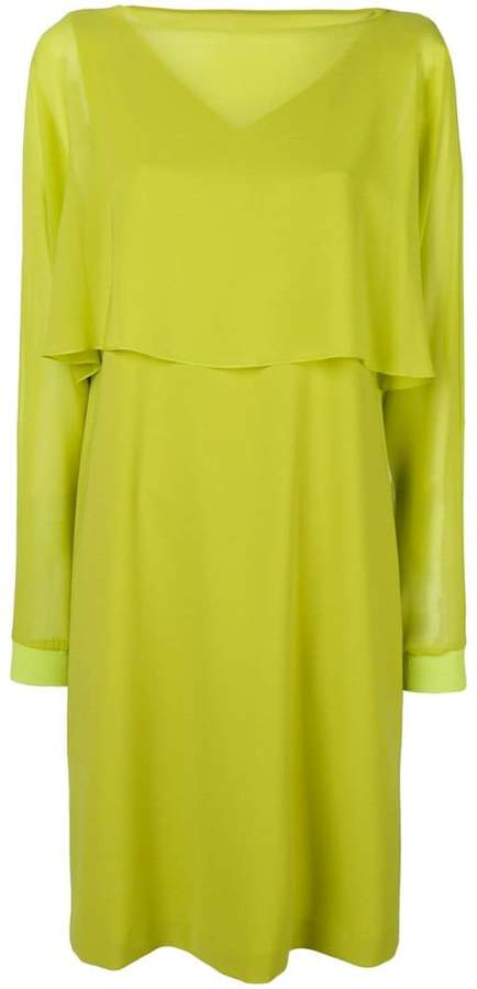 D-Exterior D.Exterior top detail midi dress