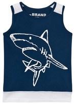 The BRAND Blue Shark Long Mesh Tank