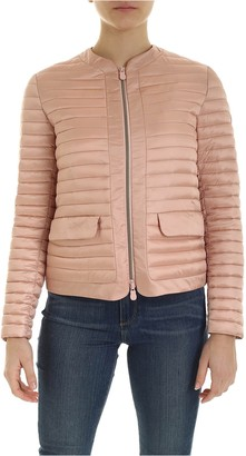 Save The Duck Quilted Jacket With Pockets