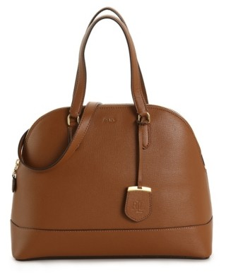 Lauren Ralph Lauren Calderwood Leather Satchel