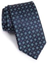 Robert Talbott Men's Geometric Medallion Silk Tie