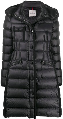 Moncler Snap-Button Fastening Padded Coat