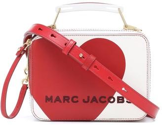 Marc Jacobs Box Mini Heart leather shoulder bag