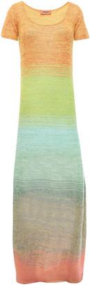 Missoni Degrade Crochet-knit Maxi Dress