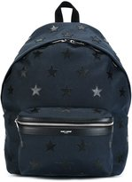 Saint Laurent 'City California' backpack - men - Calf Leather/Leather/Polyester - One Size