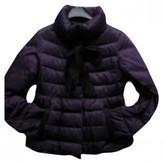 Carolina Herrera Purple Leather Jacket for Women