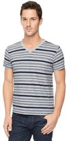 Splendid Stripe Jersey V-Neck