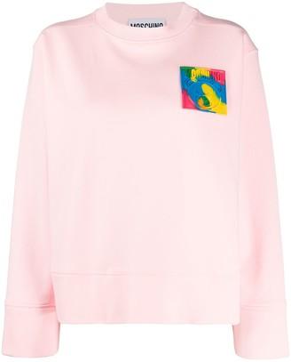 Moschino Oversized Patch Sweatshirt