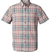 Royal Robbins Mid-Coast Seersucker Plaid Short Sleeve Shirt (Men's)
