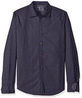 Calvin Klein Jeans Men's Countdown Print Long Sleeve Button Down Shirt