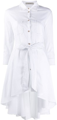 D-Exterior High-Low Hem Shirt