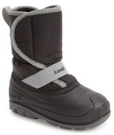 Kamik Toddler Boy's Pika Waterproof Faux Fur Lined Snow Boot