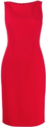 Paule Ka Fitted Sleeveless Dress