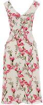 Oasis Magnolia Frill Midi Dress